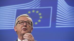 Jean-Claude Juncker, président de la Commission européenne, le 6 novembre 2014 à Bruxelles (Belgique). (JOHN THYS / AFP)