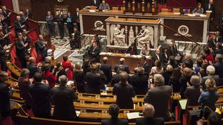 Les députés à l'Assemblée nationale lors des questions au gouvernement le 10 novembre 2015. (MAXPPP)