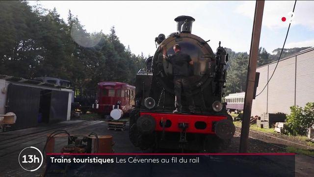 Tourisme : dans le train à vapeur des Cévennes