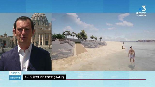 Italie : comment ouvrir les plages pendant l'épidémie
