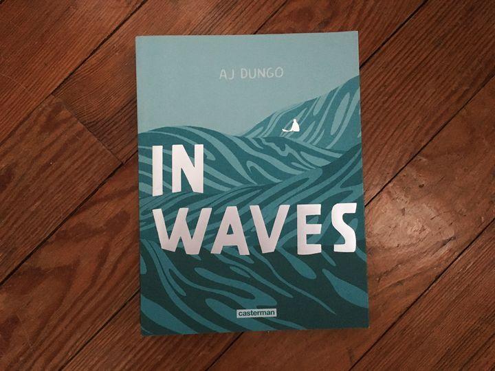 """Couverture de """"In Waves"""", de Al Jungo (CASTERMAN)"""
