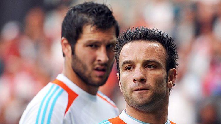 Mathieu Valbuena et André-Pierre Gignac