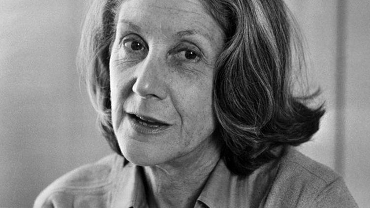 L'écrivain Nadine Gordimer en janvier 1980.  (Pierre Haski / AFP)