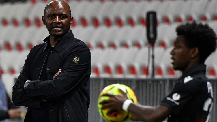 Patrick Vieira a été démis de ses fonctions d'entraîneur de l'OGC Nice  (NICOLAS TUCAT / AFP)