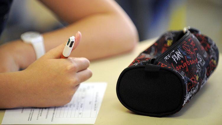 """(Les élèves de collège auront chaque semaine des """"enseignements pratiques interdisciplinaires"""" animés par des profs de plusieurs matières © Maxppp)"""