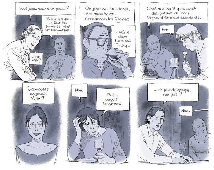 """""""Une histoire d'homme"""", page intérieure  (Zep / Rue de Sèvres)"""