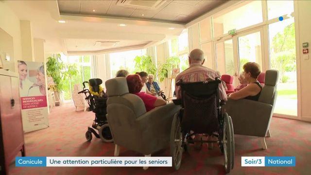 Canicule : vigilance accrue pour les séniors