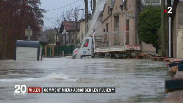 Inondations : comment les villes peuvent-elles absorber la pluie ?
