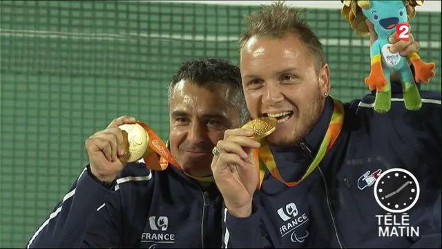 Jeux paralympiques : pluie de médailles pour les Bleus à Rio