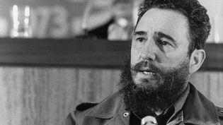 Fidel Castro, chef d'Etat cubain, le 13 septembre 1973. (STIG NILSSON / SCANPIX SWEDEN)