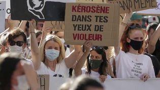 En Corse, un collectif de jeunes femmes, lancé cet été sur les réseaux sociaux, dénonce les violences sexuelles. (France 2)