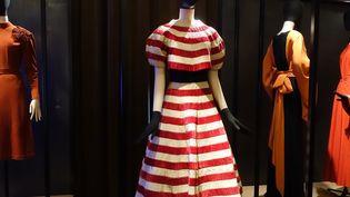 """Exposition Jeanne Lanvin à Galliera : ensemble de réception """"Révirence"""" (corsage et jupe), 1938  (Corinne Jeammet)"""