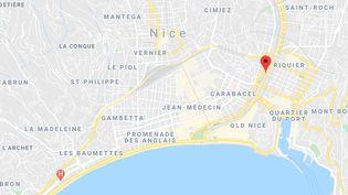 Le drame s'est produit dans le tunnel du Paillon, à Nice (Alpes-Maritimes). (GOOGLE MAPS)