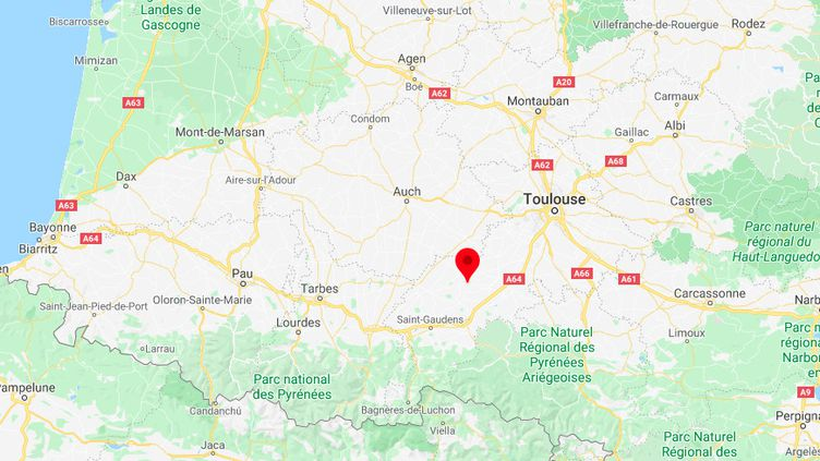 Lussan-Adeilhac, en Haute-Garonne. (GOOGLE MAPS)
