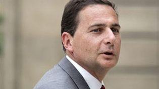 Eric Besson et ses homologues européens étaient réunis jeudi à Bruxelles. (AFP - Patrick Kovarik)