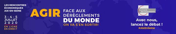 Les Rencontres économiques Aix-en-Seine. (DR)