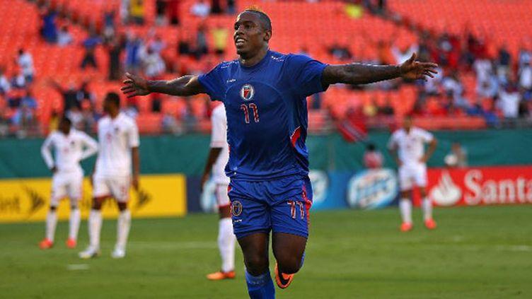 L'attaquant haïtien Jean-Eudes Maurice