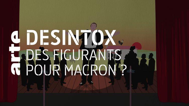 Les bains de foule d'Emmanuel Macron au Salon de l'agriculture n'étaient pas mis en scène (ARTE/LIBÉRATION/2P2L)