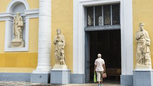 La cathédrale Saint-Pierre et Saint-Paul à Pointe-à-Pitre (Guadeloupe) (GUIZIOU FRANCK / HEMIS.FR VIA AFP)