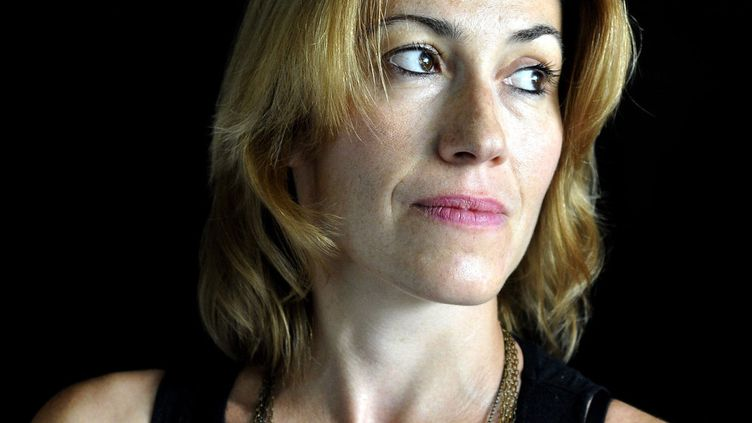 La romancière Gwenaëlle Aubry  (Hannah Assouline / OPALE / LEEMIMAGE/MERCURE DE FRANCE)