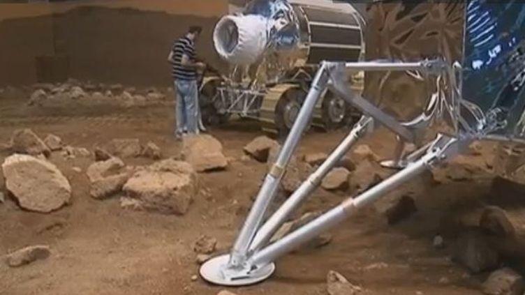 Université et l'école polytechnique de Turin (Italie), le programme d'esplorationde Mars par Thales Alenia Space . Juin 2012 ( FRANCE 3)