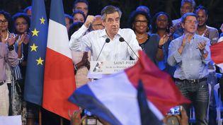 François Fillon le 12 février 2017. (RICHARD BOUHET / AFP)