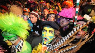 Carnaval bande de Dunkerque  (PHOTOPQR/VOIX DU NORD)
