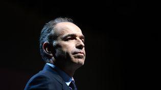 Jean-François Copé, le 19 février 2014, lors d'un meeting à Avignon (Vaucluse). (ANNE-CHRISTINE POUJOULAT / AFP)