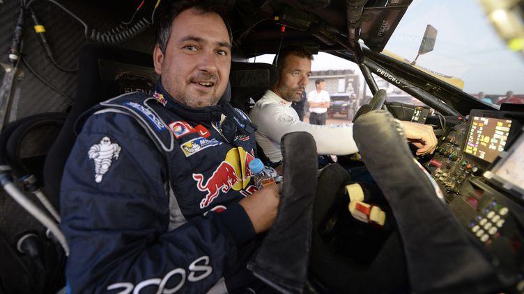 Daniel Elena est indissociable de Sébastien Loeb dans une voiture de rallye ou de rallye-raid (ERIC VARGIOLU / E.V.A.)