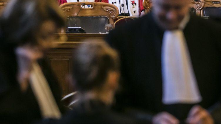 Audience d'installation de la cour d'appel de Paris en novembre 2019 (VINCENT ISORE / MAXPPP)