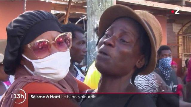 Séisme à Haïti : le bilan, de 1 300 morts, n'en finit pas de s'alourdir