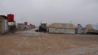 La camp de Roj, dans le nord-est de la Syrie. (ERIC AUDRA / DPA)