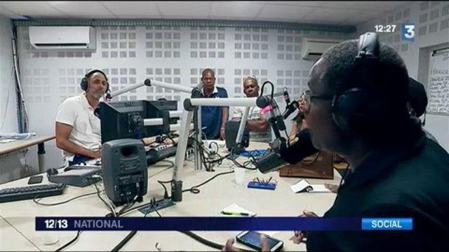 Guyane : les manifestants branchés sur Radio Péyi