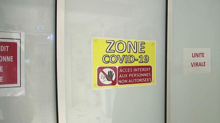 Covid-19 : le plan blanc déclenché dans les hôpitaux de Corse (FRANCE 2)