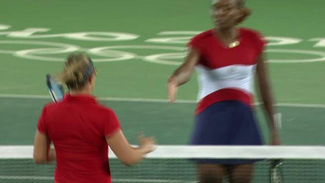 Jo 2016 / tennis : Venus Williams sort dès le 1er tour