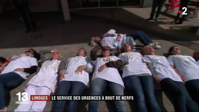 Limoges : le CHU en grève demande des postes supplémentaires