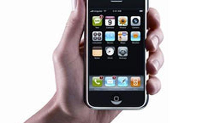 Plus de 1,3 million de iPhone d'Apple ont été vendus en France depuis son lancement en 2007 (© AFP/HO)
