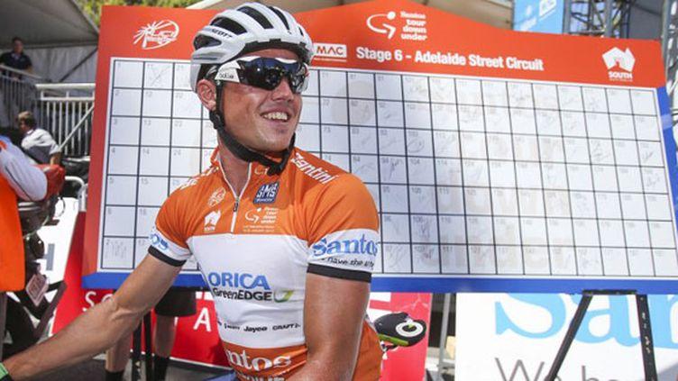 Le cycliste australien Simon Gerrans