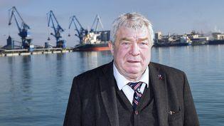 Jean-Claude Gayssot, président du port de Sète. (ALEX BAILLAUD / MAXPPP)