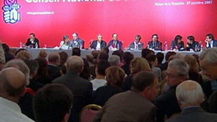 Conseil national du Parti socialiste à Paris, le 27 octobre 2007 (France 3)