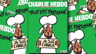 """La """"une"""" de Charlie-Hebdo du mercredi 14 janvier 2015  (HO / CHARLIE HEBDO / AFP)"""