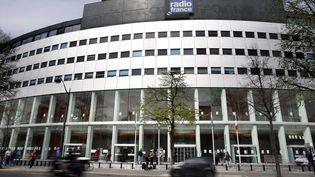 Le siège de Radio France, à Paris, en avril 2015. (THOMAS SAMSON / AFP)