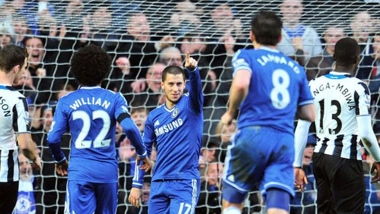Eden Hazard, auteur d'un triplé contre Newcastle