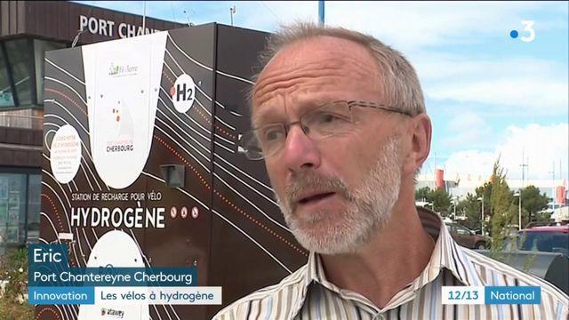 Innovation : promenade en vélo à hydrogène