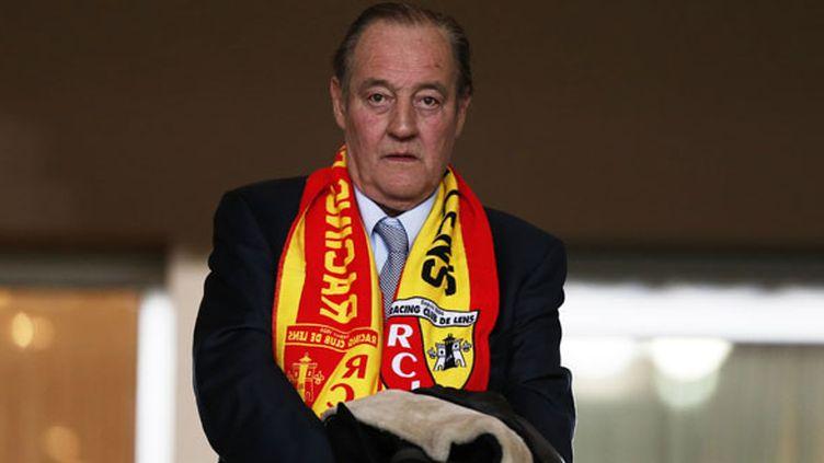 Le désormais ex-président du RC Lens Gervais Martel
