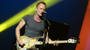 Sting en concert à New York, septembre 2016  (Andrew Toth / GETTY IMAGES NORTH AMERICA / AFP)