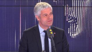 Laurent Wauquiez, invité du 8h30 Politique le 17 mai 2019. (FRANCEINFO)