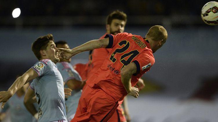 Le défenseur barcelonais Jérémy Mathieu se mue en buteur