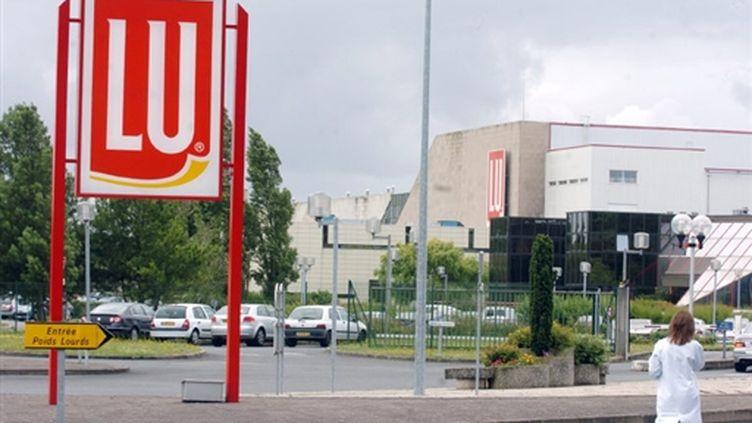 L'entreprise Lu à La Haye-Fouassière (© AFP - Frank Perry)