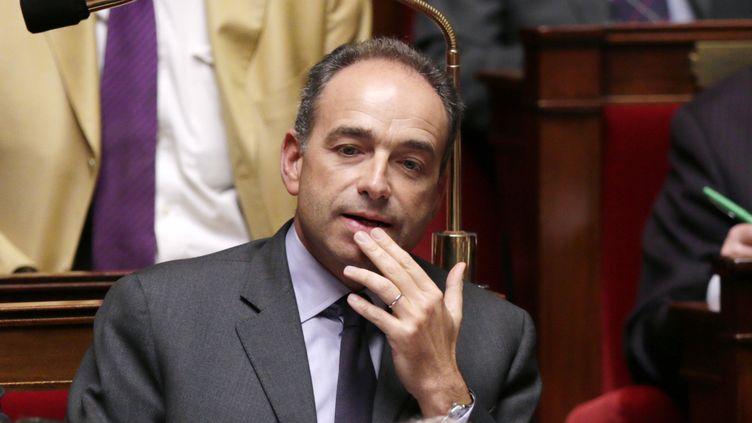 29 janvier2013 - Jean-François Copé, Président de l'UMP à l'Assemblée nationale à paris (JACQUES DEMARTHON / AFP)